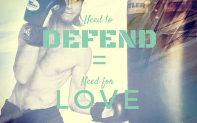 Need to defend = Need for love.