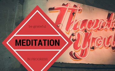 Thank you for meditating!