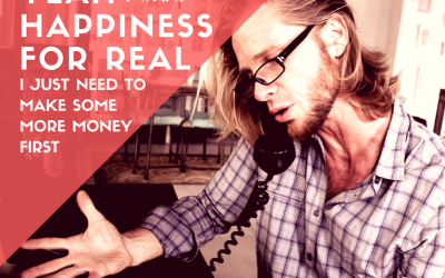Yeah I want happiness for real…