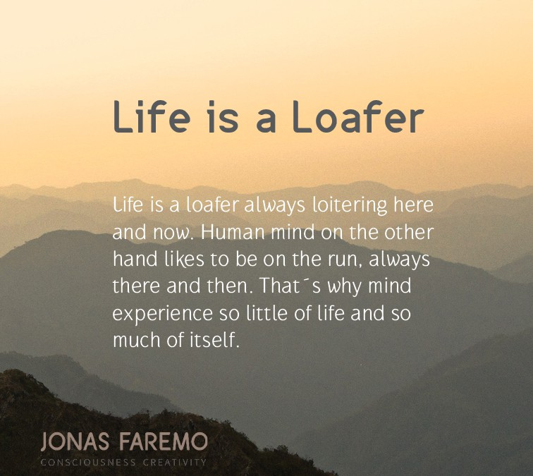 Life is a Loafer