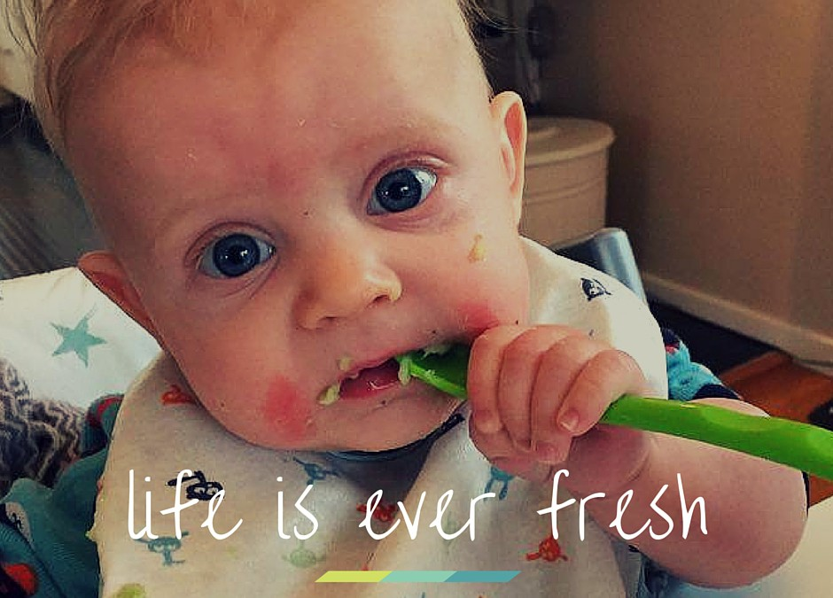 Life is ever fresh
