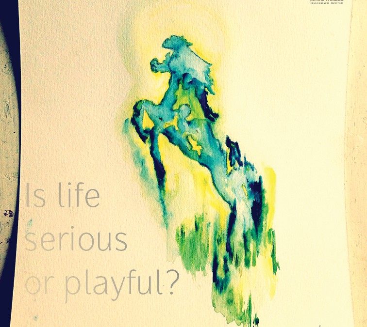 Is life serious or playful?