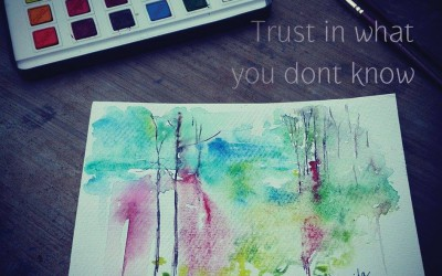 Trust in what you dont know