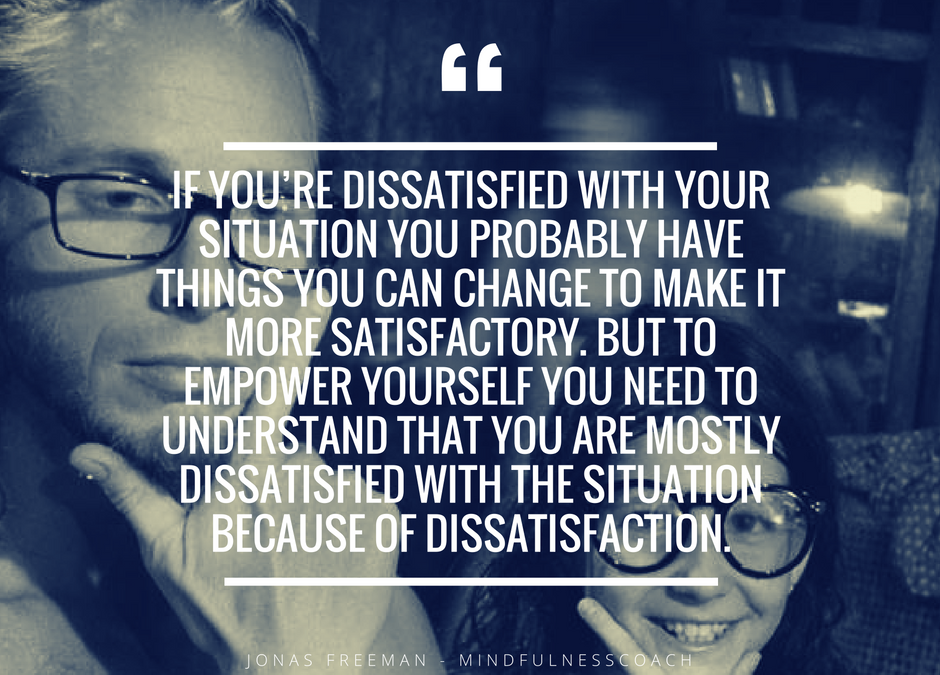 Dissatisfied with dissatisfaction?